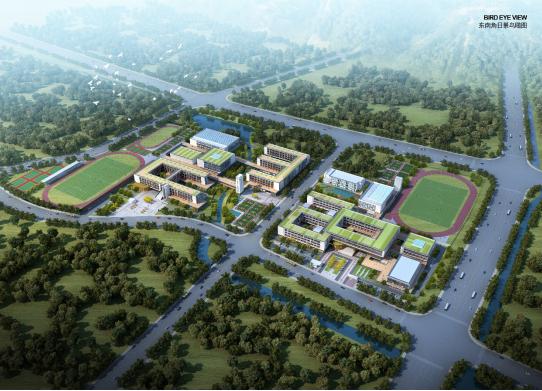 江北又一新学校即将竣工,9月开学!